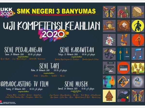 Uji Kompetensi Keahlian SMK Negeri 3 Banyumas Tahun Pelajaran 2019/2020